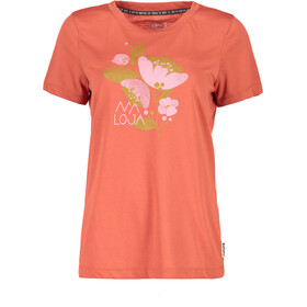 Maloja RahelM. Multi Short Sleeve Jersey Women maple leaf